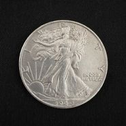 Монета Walking Liberty Half Dollar (Brass)