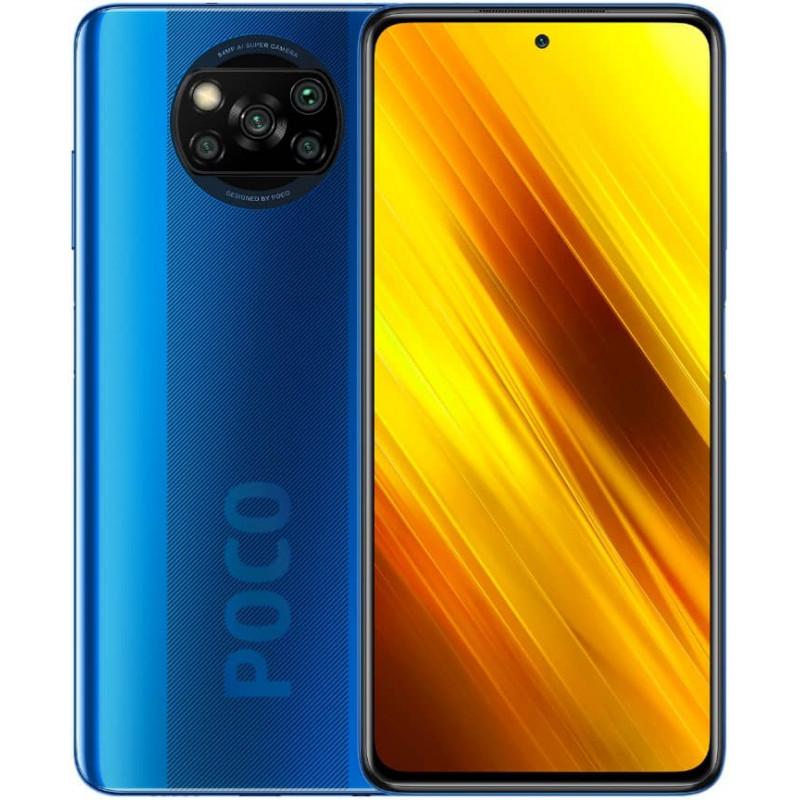 Смартфон Xiaomi Poco X3 NFC 6/64GB Синий