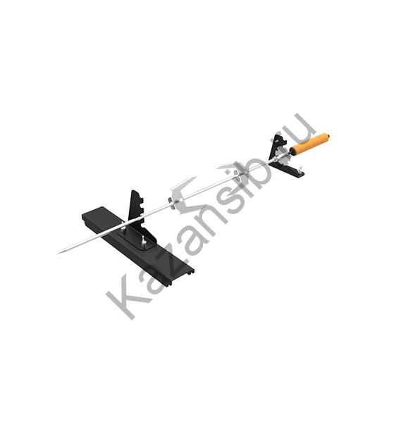 Вертел+опоры (комплект) для мангалов Редлайнер