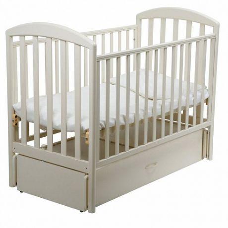 Детская кроватка Джованни маятник 120х60 Слоновая кость