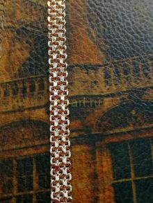 """Позолоченная цепочка, плетение """"кольчуга"""", 7 мм (250311)"""