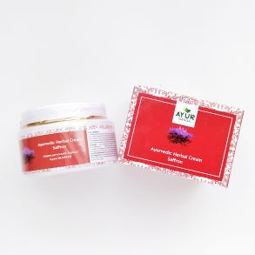 Аюрведический травяной крем Шафран | Ayurvedic Herbal Cream Saffron | 30 г | AyurGanga