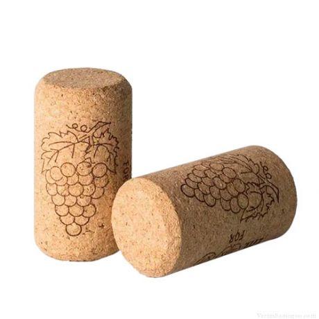 Пробка винная корковая агломерированная, d23