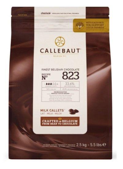 Callebaut Молочный 823