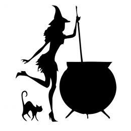 """Мистическая свеча """"Ведьмин Котелок"""".Фигурные свечи - символы"""