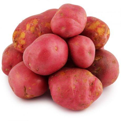 Картофель красный мытый