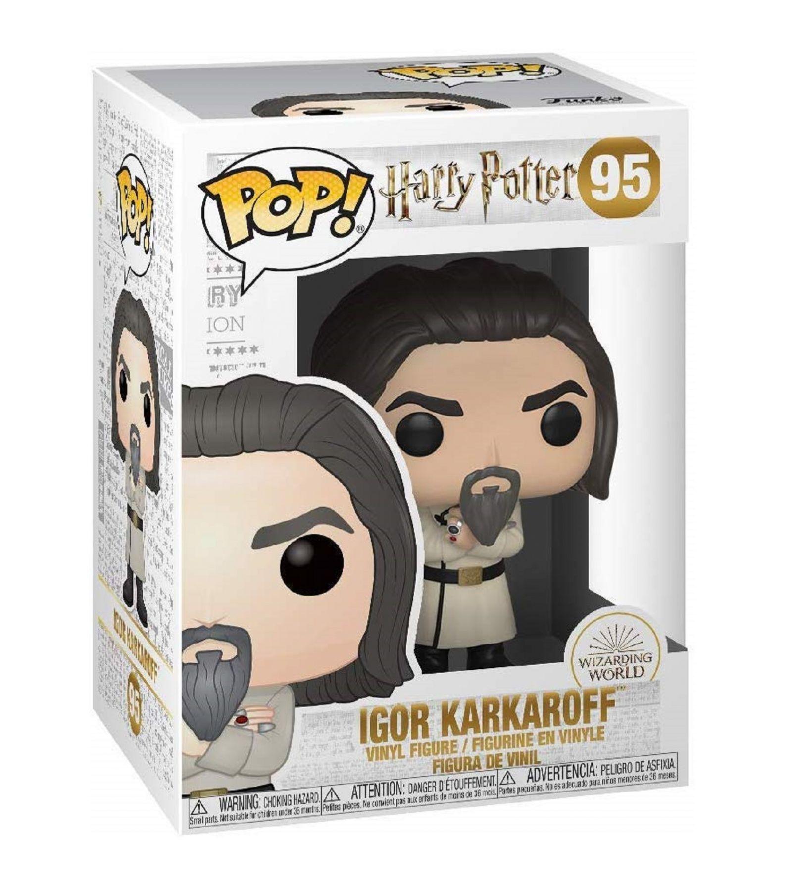 Фигурка Funko POP! Vinyl: Harry Potter S8: Igor Karkaroff (Yule)