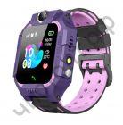Часы детские с GPS OT-SMG04 Фиолетовые (SZ6)