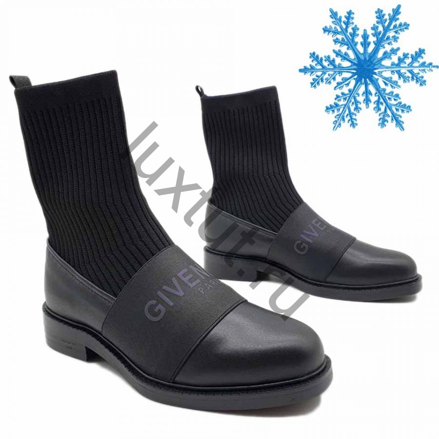 Ботинки Givenchy с мехом
