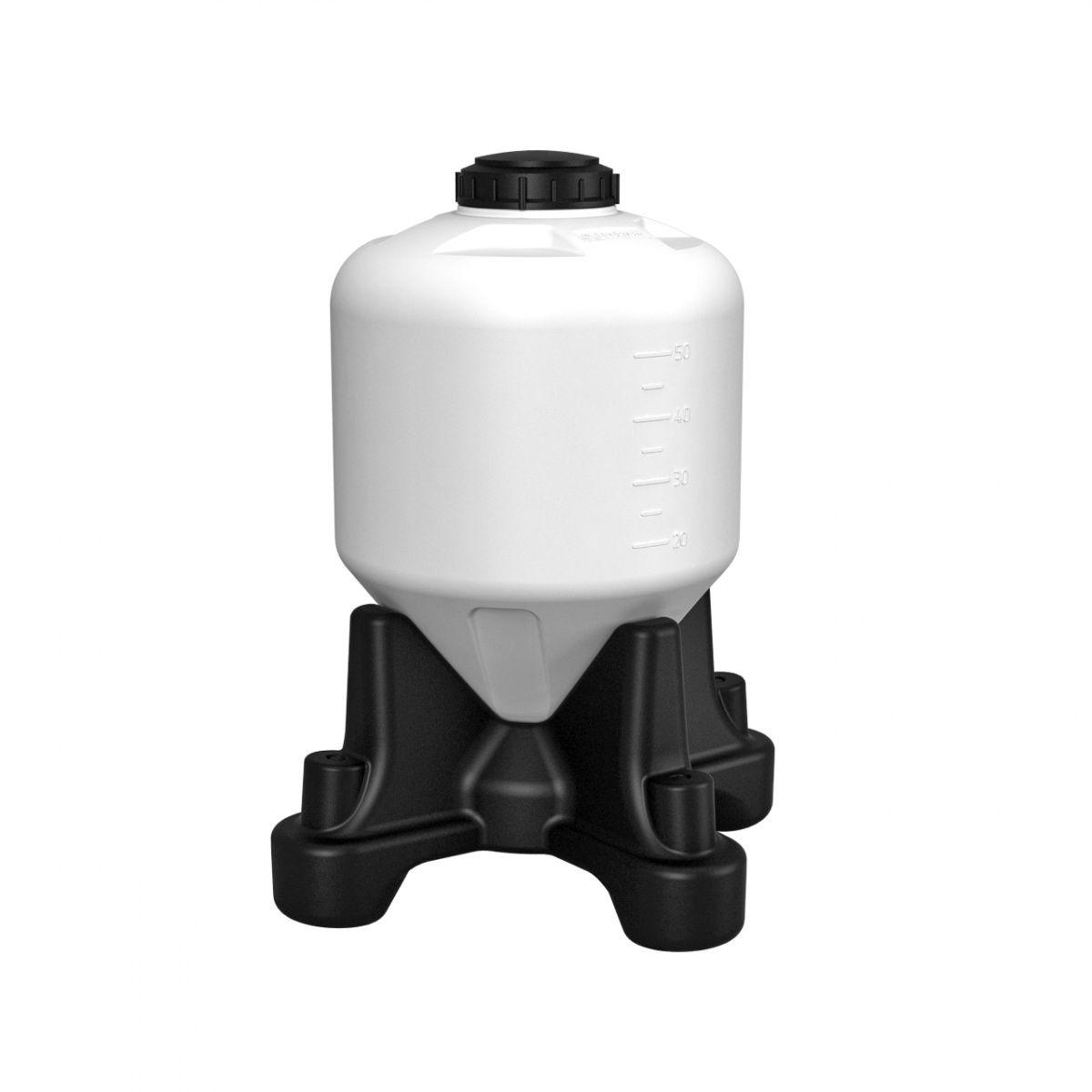 Емкость ЦКТ 60 литров для пивоварения с подставкой (стандарт)