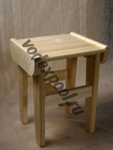 Табурет деревянный высокий