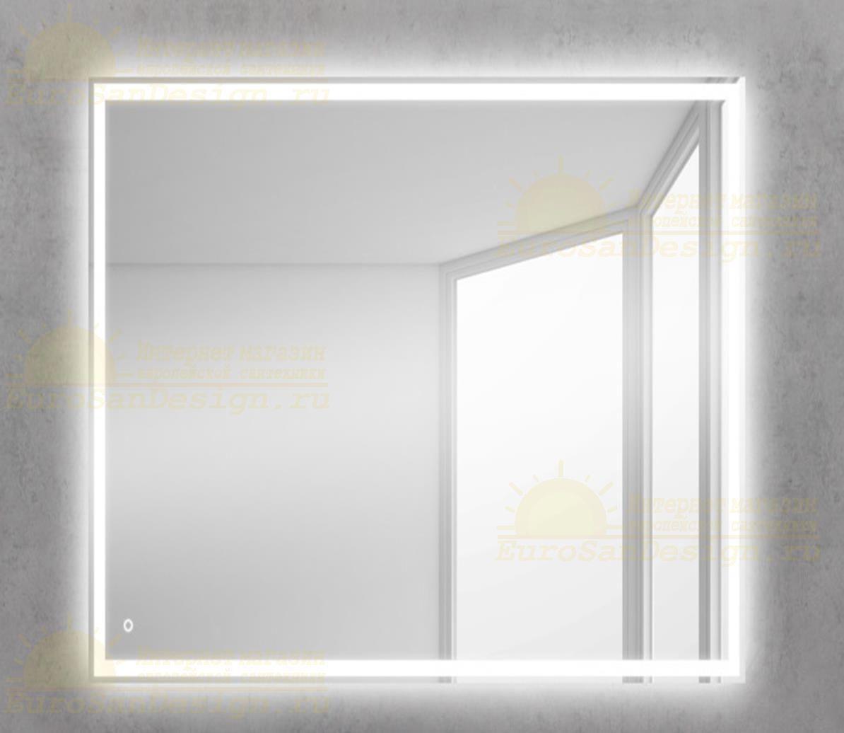 Зеркало для ванной комнаты BelBagno SPC-GRT-600-600-LED-TCH ФОТО