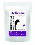 Delicana Сухой корм для кошек с чувствительным пищеварением, индейка  8кг