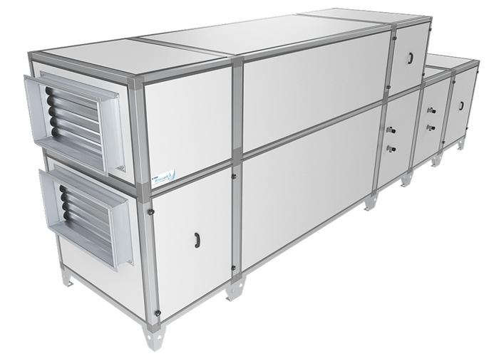 Приточно-вытяжная установка Breezart 16000 Aqua RP W PB