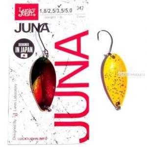 Блесна колеблющаяся Lucky John Juna 3,5 гр / 33 мм/ цвет: 042