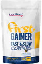 Гейнер Be First Gainer Fast & Slow Carbs 1000 гр