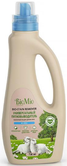 Bio-Mio Bio-Stain Remover Универсальный пятновыводитель для стирки белья 750 мл