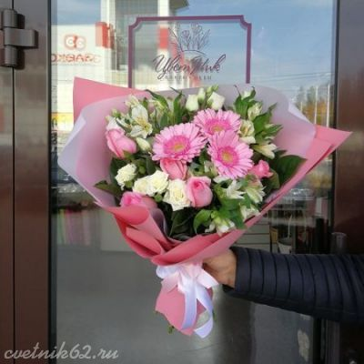 Букет Розовое облачко