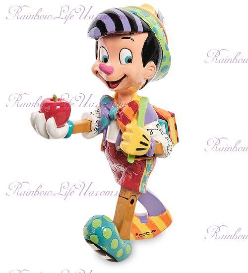 """Фигурка Приключения Пиноккио """"Disney. Britto"""""""