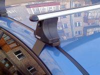 Багажник на крышу Chevrolet Lacetti (sedan / hatchback) - Атлант. Прямоугольные дуги.