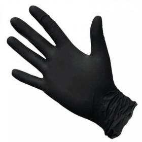 Перчатки нитриловые XS 100шт (50пар) черные