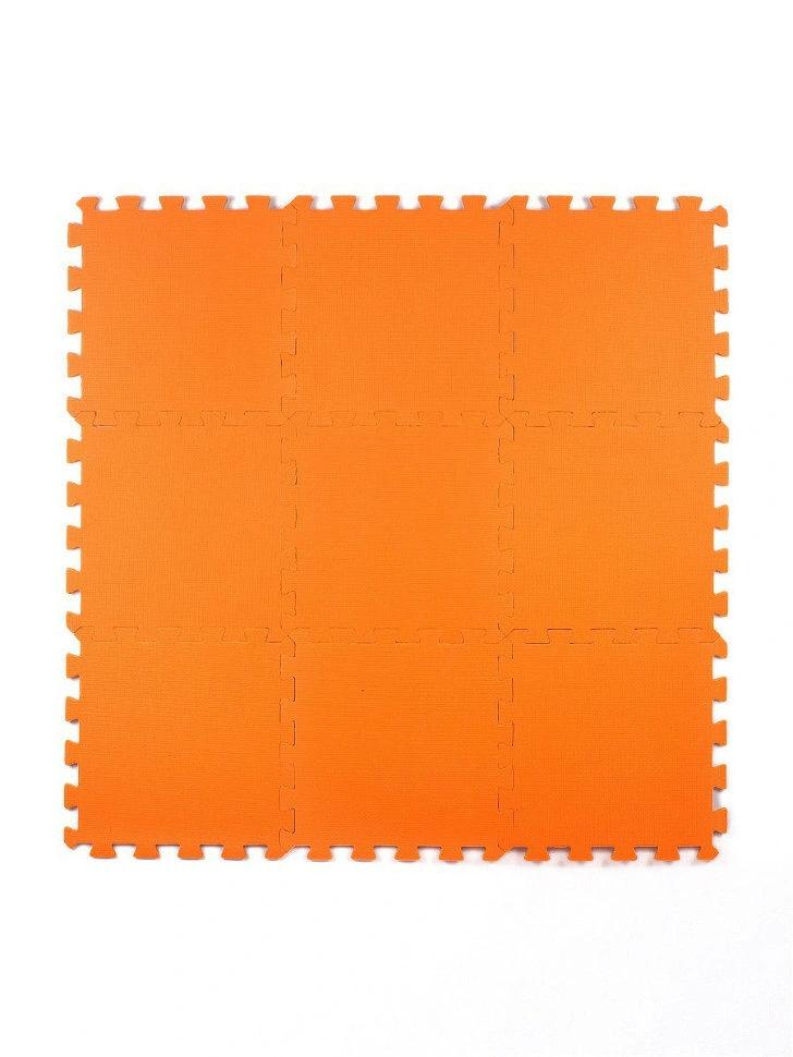 Мягкий пол универсальный Оранжевый 33*33 см, 9 дет.