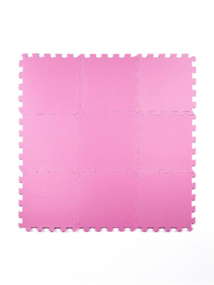 Мягкий пол универсальный Розовый 33*33 см, 9 дет.