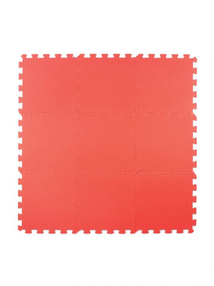 Мягкий пол универсальный Красный 33*33 см, 9 дет.