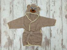 МАМИН МАЛЫШ - Халат детский коричневый V-XA033(k)-MA мишка