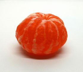 Силиконовая форма для мыла   Очищенный мандарин малый