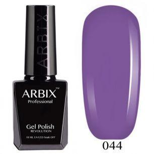 Гель лак  ARBIX № 44 Фиолетовый закат