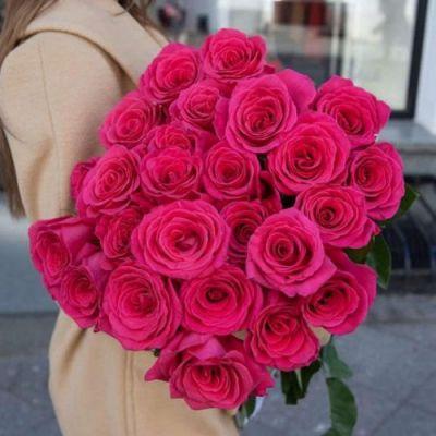 Букет из 25 роз Пинк Флойд