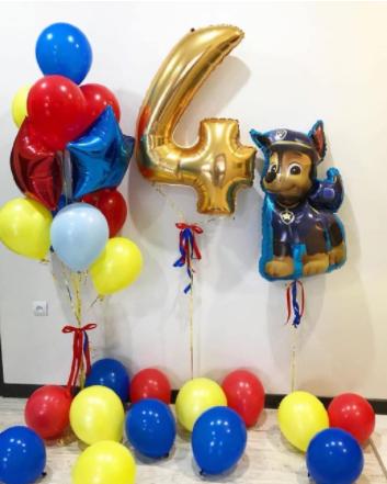 Воздушные шары для мальчиков «Щенячий Патруль»