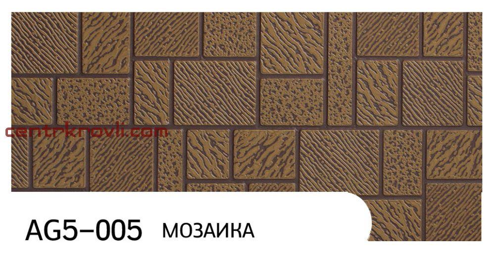 "Фасадная панель ""Zodiac"" AG5-005; мозаика"