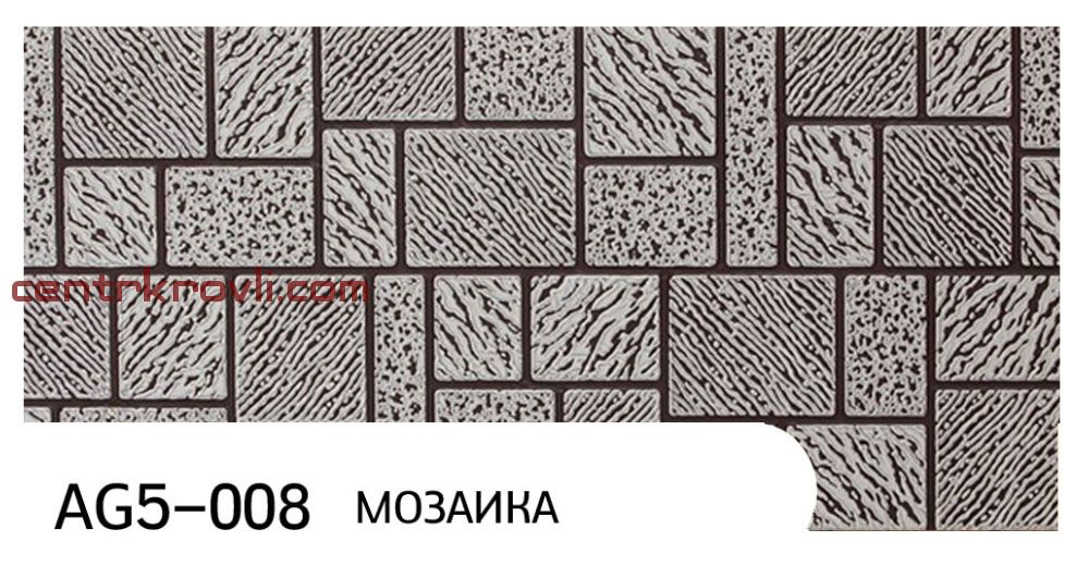 "Фасадная панель ""Zodiac"" AG5-008; мозаика"
