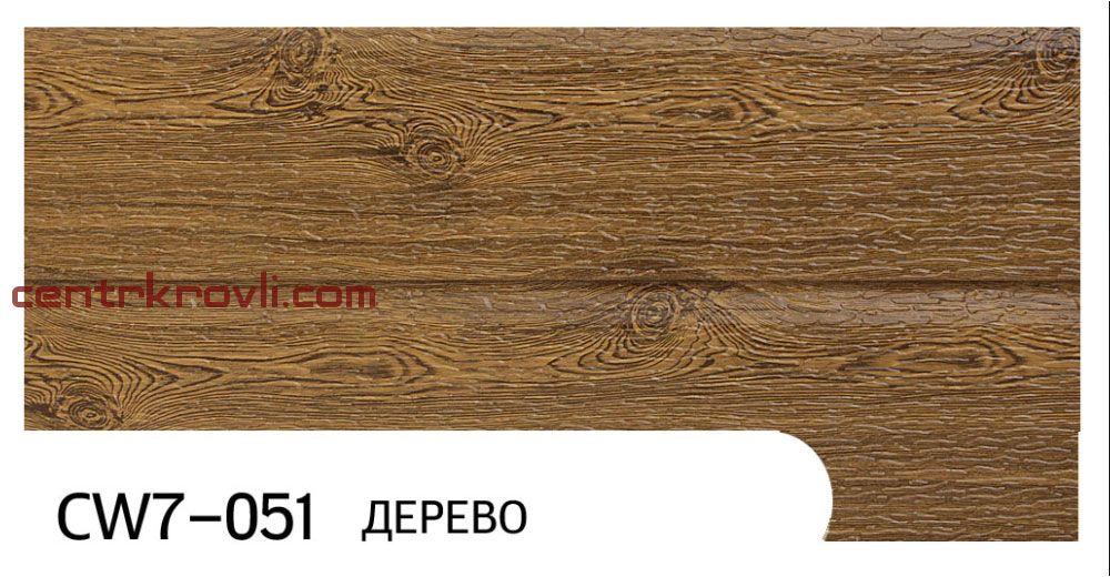 """Фасадная панель """"Zodiac"""" CW7-051; дерево"""