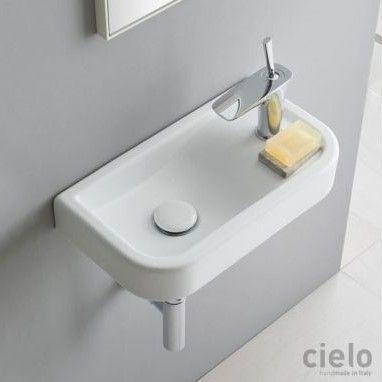 Рукомойник Cielo Opera OPLA45 накладной или подвесной 45х25 ФОТО
