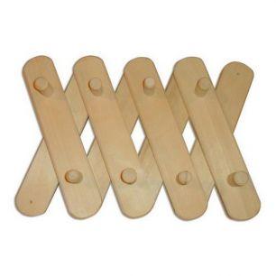 Вешалка деревянная 3-х секционная - все для сада, дома и огорода!