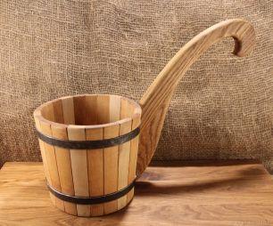 Ковш-черпак из дерева - все для сада, дома и огорода!