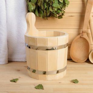 Шайка деревянная 3 л - все для сада, дома и огорода!