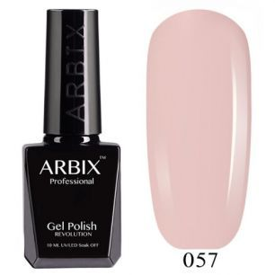 Гель лак  ARBIX № 57 Французское Парфе
