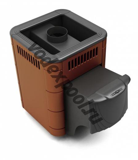 Печь для бани ТМФ Оса Carbon дверца антрацит терракота