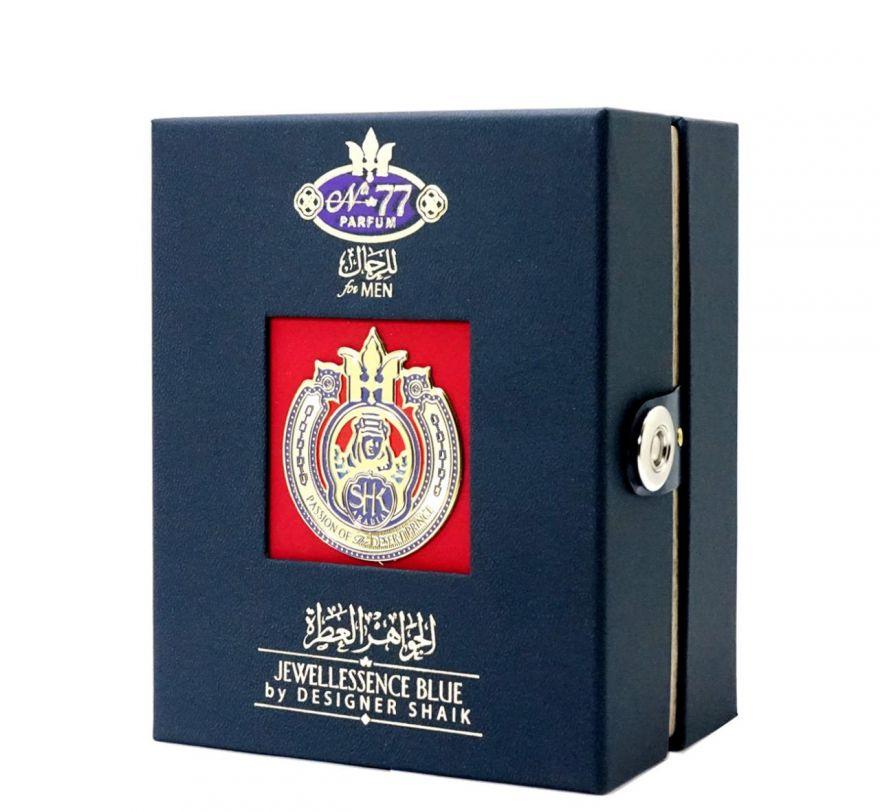 Shaik Passion Of Jewellessence Blue № 77 100 мл - подарочная упаковка