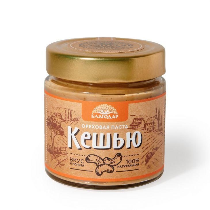 Ореховая паста «Кешью», 200 гр.