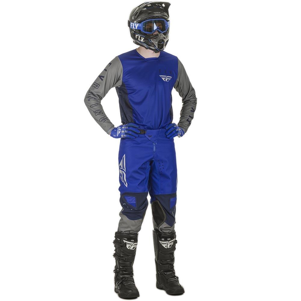 Fly Racing 2021 Kinetic K121 Blue/Navy/Grey комплект джерси и штаны