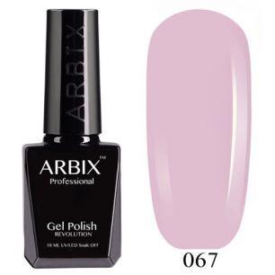 Гель лак  ARBIX № 67 Выходные в Париже