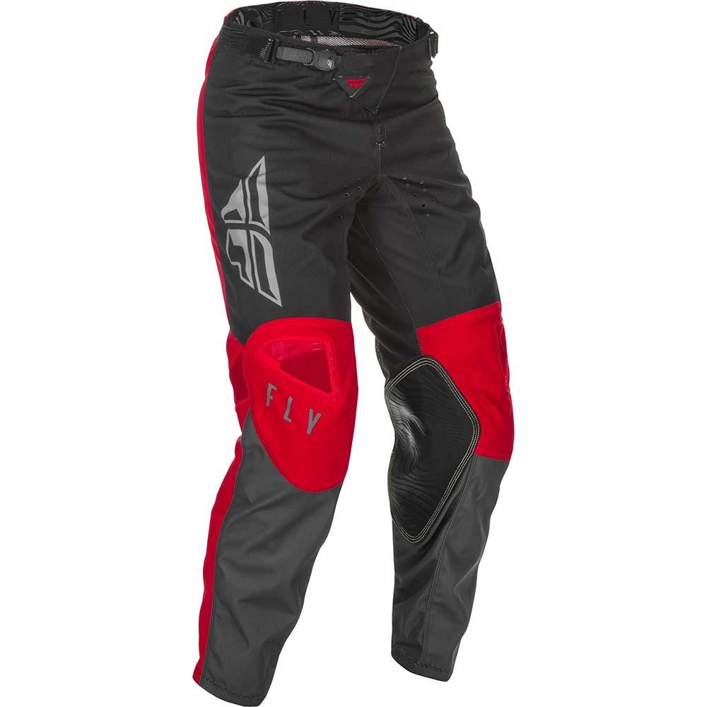 Fly Racing 2021 Kinetic K121 Red/Grey/Black штаны