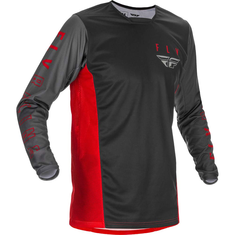Fly Racing 2021 Kinetic K121 Red/Grey/Black джерси
