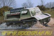 Soviet T-20 Armored Tractor Komsomolets
