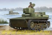 Танк Soviet T-37 Amphibious Light Tank - Early